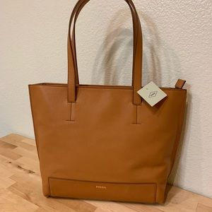 NWT Fossil Madison Leather tote bag